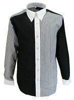 Mens The Who Retro Black and White  Mod 100% Cotton Shirts…