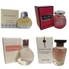 Ladies Womens Miniature Mini Perfume Gift Travel x4 Jimmy Choo Burberry DKNY