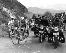 Jacque Anquetil and Raymond Poulidor 1964 Tour de France 10x8 Photo