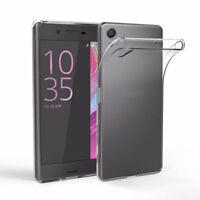 Clear Soft TPU Phone Case Cover for Sony Xperia Z1 Z2 Z3 Z4 Z5 Compact X XA XP