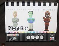Skullduggery Cast & Paint Monsters Casting Kit: Werewolf Mummy & Frankenstein
