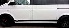 VW TRANSPORTER SIDE STRIPE / GRAPHICS / STICKERS / DECAL