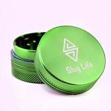 Slug Life Herb Grinder 2 Parts 1.5 Inch (Green)