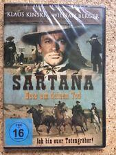 SARTANA - Bete um deinen Tod DVD, Italo-Western Klassiker, Klaus Kinski NEU, OVP