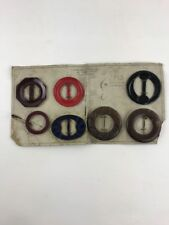 Vintage Collectors Advertising General Store Display Card Buttons Scarf Buckle