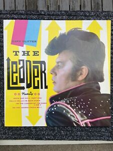 GARY GLITTER - THE LEADER LP VINYL Greatest Hits.very good condition