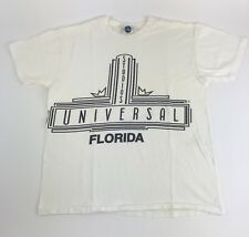 Vintage Universal Studios T Shirt EUC Sz L 80s 90s White