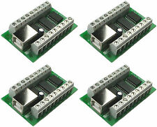 4 x Ultimarc PAC-Drives & USB Cables Illuminated LED Arcade Button Controllers