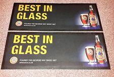 2 X Newcastle Brown Ale Beer Mats / Bar Runners