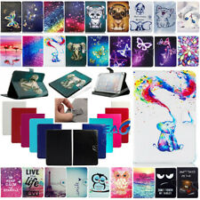 Universal Adjustable Print Folio Stand Case Cover For Android Tablet 7