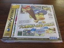 Pro Yakyuu Team Mo Tsukulou!    --  GS-9165   --   SEGA SATURN / JAP.  NEUF -NEW