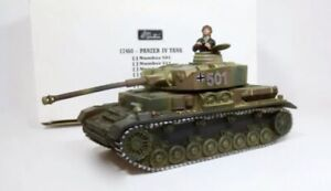 Britains 17460 Number 501 German Camo Panzer IV Tank With Tank Commander New