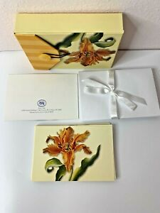 Michel Publishing 12 Blank Notecards and 12 Envelopes PARROT TULIP 2003