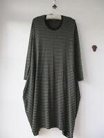 MASAI Viscose Jersey Olive/Khaki/Black Stripe Tunic Dress XL UK Size 16/18