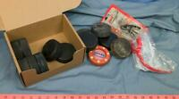 Ice Hockey Pucks Game or Practice Lot of 13 plus Extras dq