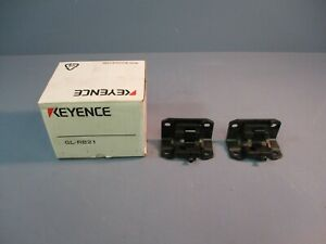 Keyence Deadspace Free Safety Light Curtain Mounting Bracket GL-RB21 NEW IN BOX