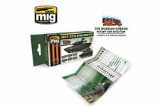 AMMO OF MIG A.MIG-7160 Mythical Russian Green Colors 1935 6x17ml