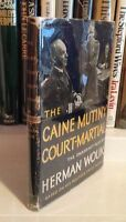 """HERMAN WOUK """"The Caine Mutiny Court-Martial"""" (1954) SIGNED First Printing RARE"""