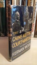 "HERMAN WOUK ""The Caine Mutiny Court-Martial"" (1954) SIGNED First Printing RARE"