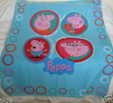 Fleece Blanket FANTASTIC PEPPA PIG Light Soft & Cosy for Peppa Fans
