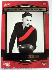 2013 AFL SELECT ESSENDON 140 YEARS MOST BEST AND FAIREST BILL HUTCHINSON CARD