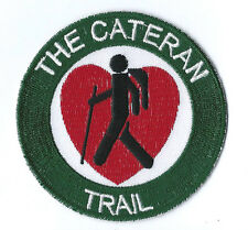 The Cateran Trail World Embroidered Patch Badge With UK Postage