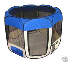 Blue Pet Dog Cat Tent Puppy Playpen Exercise Pen Kennel