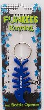 Boxer Fishbone Funkees Key Ring Multi-Colour