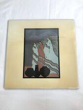 "Amado Pena Indian Native Decorative Ceramic Tile Art Hanging 8 x 8"""