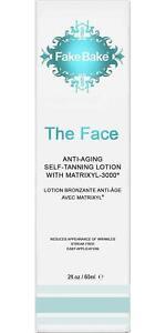 Fake Bake The Face Anti Aging Self Tanning Lotion, 2 oz