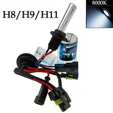 Xenon 35W HID Fog Light Lamp Replacement Bulbs 8000K Ice Blue - H11 H9 H8 (v)