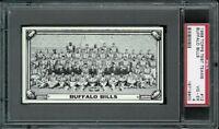 1968 Topps Test Team Photos #12 Buffalo Bills PSA 4 --