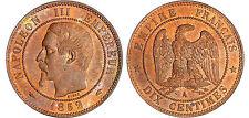 NAPOLEON III 10 CENTIMES TETE NUE 1852 A ETAT SPLENDIDE