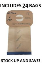 (24) Vacuum Bags for Electrolux Canister Aerus C Vac 4 Ply