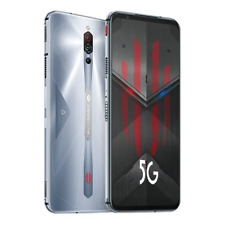 """ZTE Nubia Red Magic 5S 6.65"""" 256GB 12GB Factory Unlocked Gaming Phone (Silver)"""