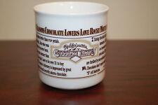 Rocky Mountain Chocolate Factory Ceramic Coffee Mug Made in China B17