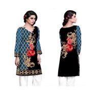 Women's Indian Kurta by Sufia Fashions® – Cotton Tunic Top Kurti – All Sizes