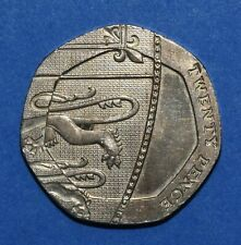 More details for undated 20p coin  (2008) error coin mule royal mint error scarce collectable