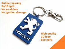 Porte cle PEUGEOT keychain 206 207 208 307 407 3008 RCZ key ring LION logo +GIFT
