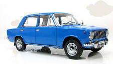 soviet russian Lada 1200 Vaz 2101 Zhiguli (Fiat 124) blue 1972 USSR IST VVM 1:18