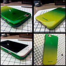 Funda Iphone 6 y 6S Extreme Mac Micro Escudo Fade Ultra Delgado verde y amarillo