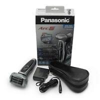 Panasonic Arc5 Men's 5-Blade Cordless Shave Sensor Electric Razor | ES-LV65-S