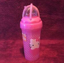 Hello Kitty Pink 11oz Loopity Loop Cup Tumbler With Straw HKIZ-N220