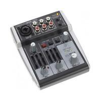 BEHRINGER XENYX 302USB MIXER PASSIVO 5 INGRESSI + INTERFACCIA AUDIO USB + SOFTWA