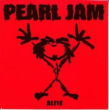 "PEARL JAM  Alive 7"" 45 PICTURE SLEEVE ONLY (NO RECORD) BRAND NEW MINT RARE!!!"