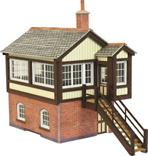 Metcalfe PO330 OO/HO Gauge GWR Signal Box Card Kit
