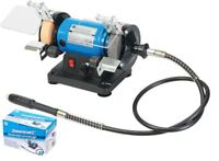 Silverline 120W Multi Bench Grinder Polisher 75mm Grinding Polishing Power Tool