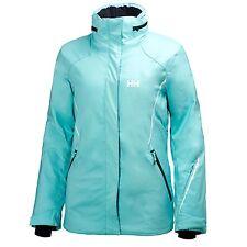 NWT Helly Hansen Women Shine Ski Jacket Seabreeze Size L