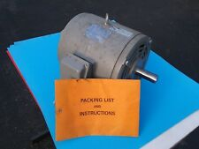 TECO WESTINGHOUSE 7 1/2 HP 3 PHASE 230 / 460 VOLTS ELECTRIC MOTOR 184 T FRAME