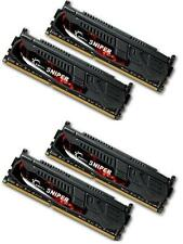 16GB G.Skill DDR3 PC3-19200 2400MHz Sniper Series CL11 Quad Channel kit (4x4GB)